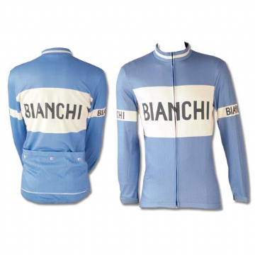 Maillot manches longues CLASSIC BIANCHI